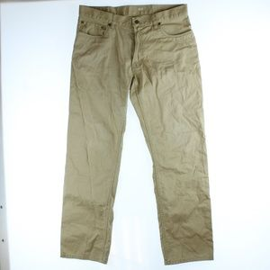 Polo Ralph Lauren Straight Fit Chino Pants Tan